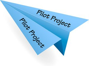 Industrial marketing pilot project